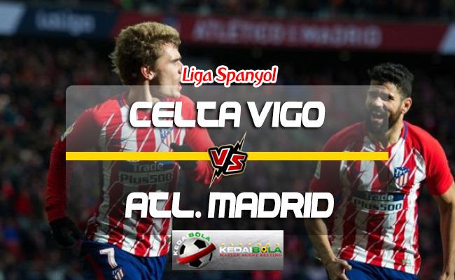 Prediksi Skor Celta de Vigo Vs Atletico Madrid 1 September 2018