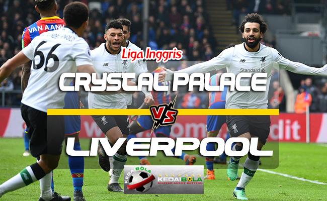 Prediksi Skor Crystal Palace Vs Liverpool 21 Agustus 2018