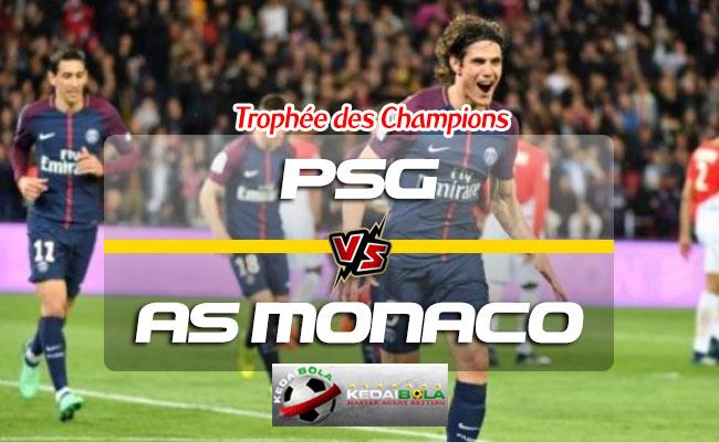 Prediksi Skor PSG Vs AS Monaco 4 Agustus 2018