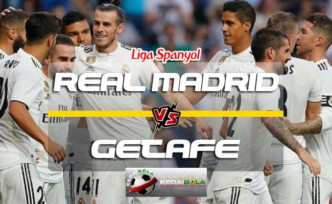 Prediksi Skor Real Madrid Vs Getafe 20 Agustus 2018