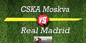Prediksi Skor Bola CSKA Moskva Vs Real Madrid 3 Oktober 2018