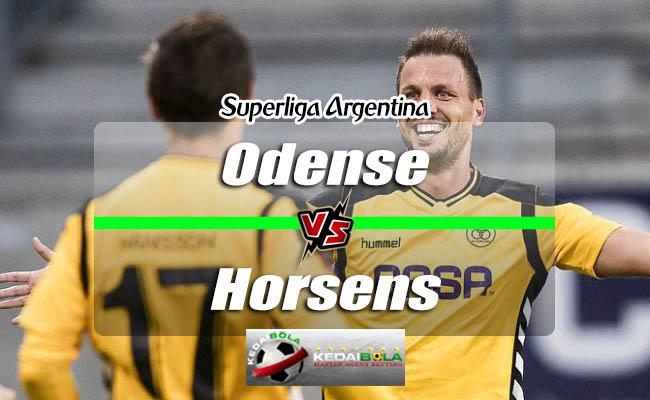 Prediksi Skor Bola Odense Vs Horsens 25 September 2018