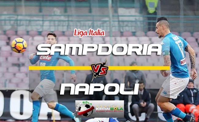 Prediksi Skor Sampdoria Vs Napoli 3 September 2018