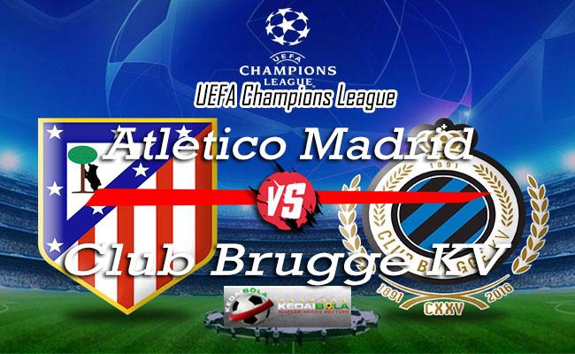 Prediksi Skor Bola Atletico Madrid Vs Club Brugge KV 4 Oktober 2018