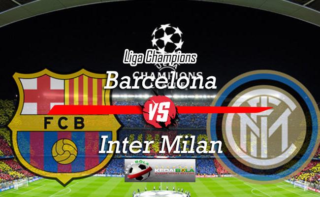 Prediksi Skor Bola Barcelona Vs Inter Milan 25 Oktober 2018
