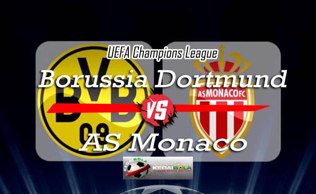 Prediksi Skor Bola Borussia Dortmund Vs AS Monaco 4 Oktober 2018