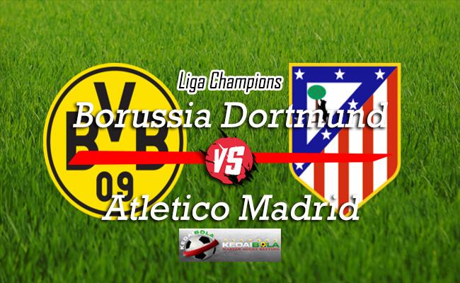Prediksi Skor Bola Borussia Dortmund Vs Atletico Madrid 25 Oktober 2018