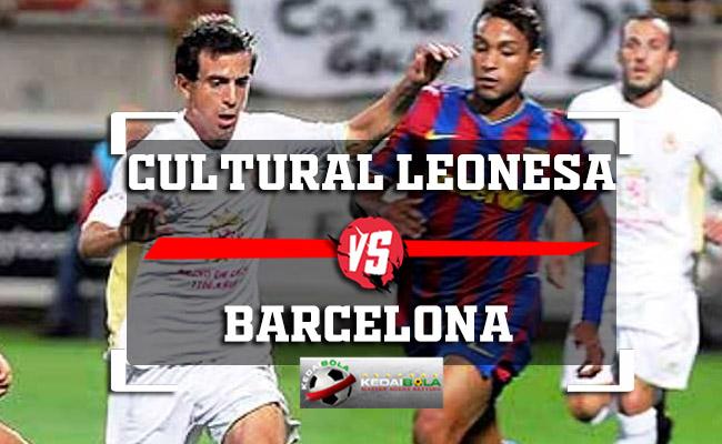 Prediksi Skor Bola Cultural Leonesa Vs Barcelona 1 November 2018