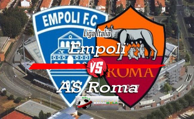 Prediksi Skor Bola Empoli Vs AS Roma 7 Oktober 2018