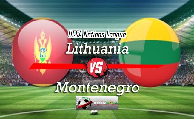 Prediksi Skor Bola Lithuania Vs Montenegro 15 Oktober 2018