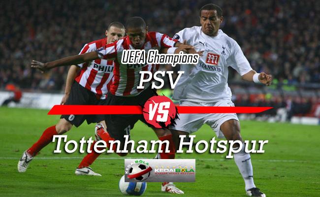 Prediksi Skor Bola PSV Vs Tottenham Hotspur 24 Oktober 2018