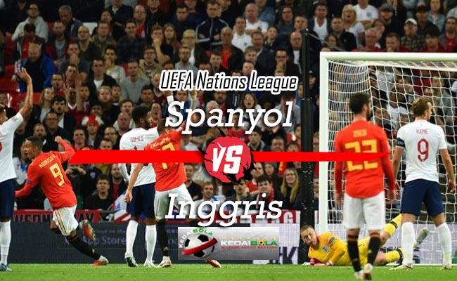 Prediksi Skor Bola Spanyol Vs Inggris 16 Oktober 2018
