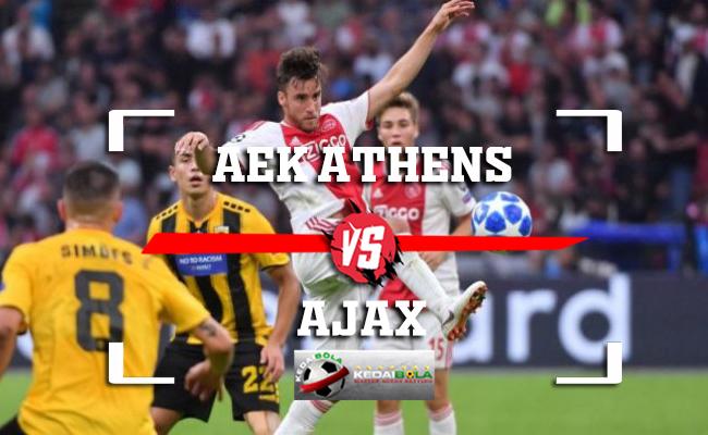 Prediksi AEK Athens Vs Ajax 28 November 2018