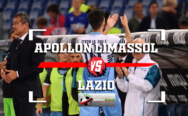 Prediksi Apollon Limassol Vs Lazio 30 November 2018
