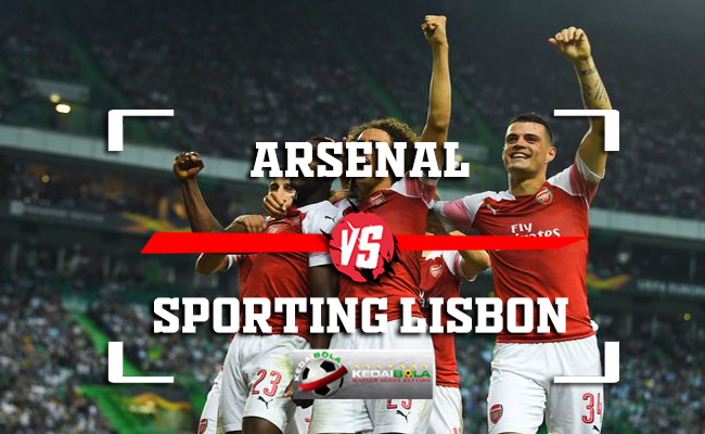 Prediksi Arsenal Vs Sporting Lisbon 9 November 2018