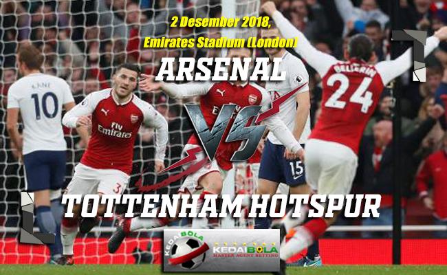 Prediksi Arsenal Vs Tottenham Hotspur 2 Desember 2018