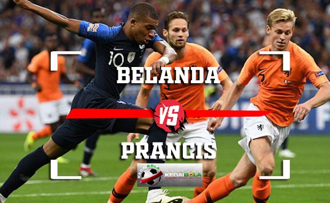 Prediksi Belanda Vs Prancis 17 November 2018