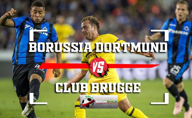 Prediksi Borussia Dortmund Vs Club Brugge 29 November 2018