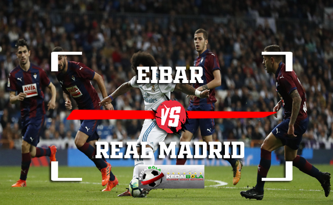 Prediksi Eibar Vs Real Madrid 24 November 2018