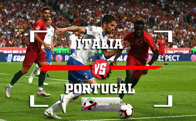 Prediksi Italia Vs Portugal 18 November 2018