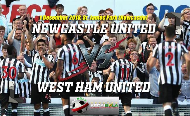 Prediksi Newcastle United Vs West Ham United 1 Desember 2018