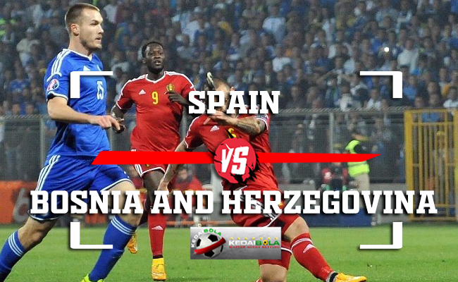 Prediksi Spain Vs Bosnia and Herzegovina 19 November 2018