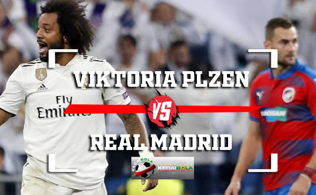 Prediksi Viktoria Plzen Vs Real Madrid 8 November 2018