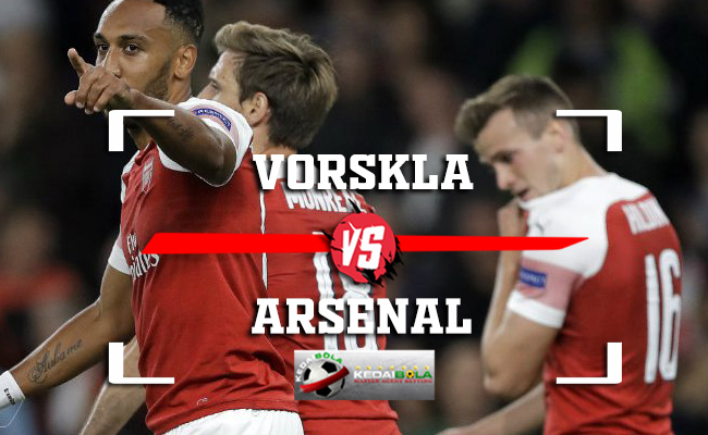 Prediksi Vorskla Vs Arsenal 30 November 2018