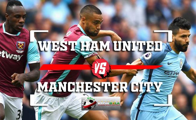 Prediksi West Ham United Vs Manchester City 24 November 2018