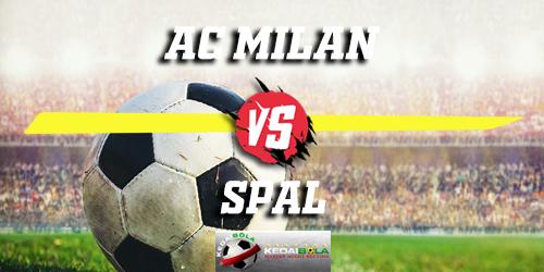 Prediksi AC Milan Vs Spal 30 Desember 2018