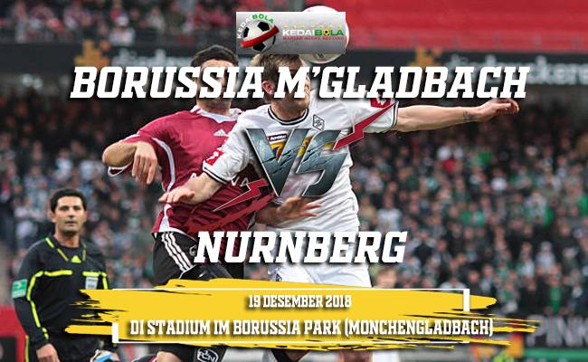 Prediksi Borussia M'Gladbach Vs Nurnberg 19 Desember 2018