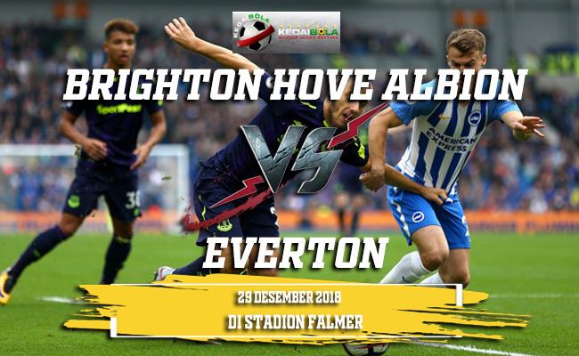 Prediksi Brighton Hove Albion Vs Everton 29 Desember 2018