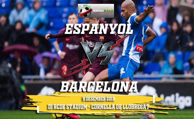 Prediksi Espanyol Vs Barcelona 9 Desember 2018