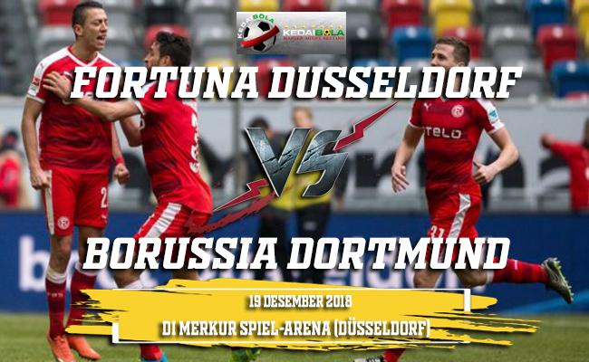 Prediksi Fortuna Dusseldorf Vs Borussia Dortmund 19 Desember 2018