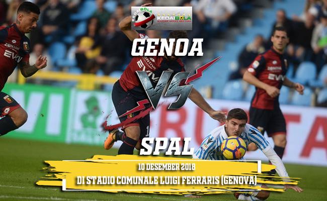 Prediksi Genoa Vs SPAL 10 Desember 2018