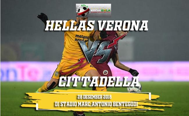 Prediksi Hellas Verona Vs Cittadella 28 Desember 2018