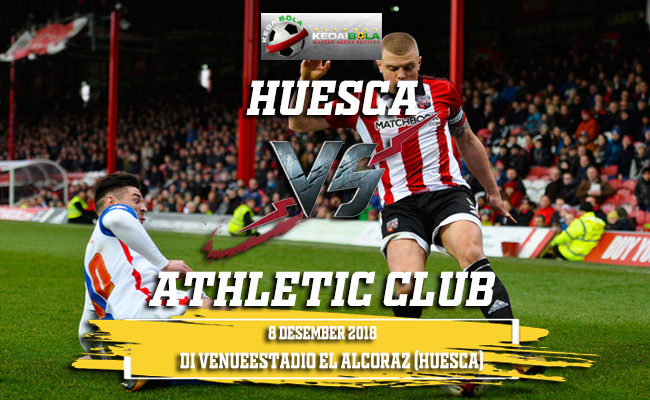 Prediksi Huesca Vs Athletic Club 7 Desember 2018
