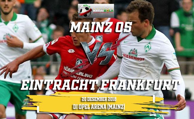Prediksi Mainz 05 Vs Eintracht Frankfurt 20 Desember 2018