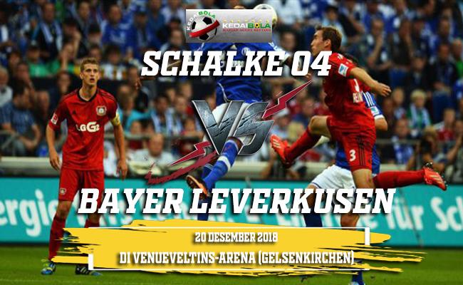 Prediksi Schalke 04 Vs Bayer Leverkusen 20 Desember 2018