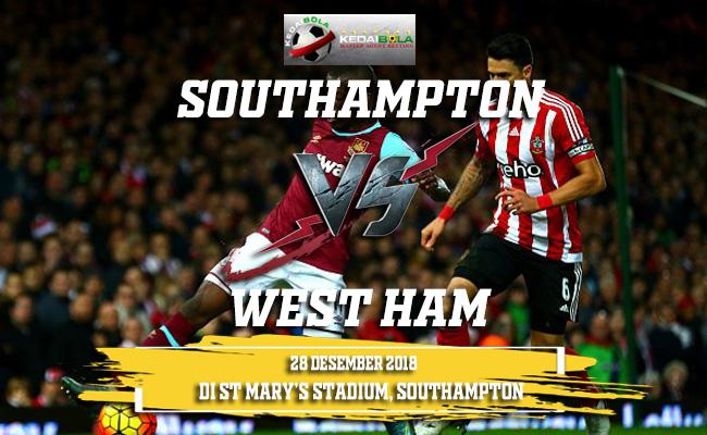 Prediksi Southampton Vs West Ham 28 Desember 2018