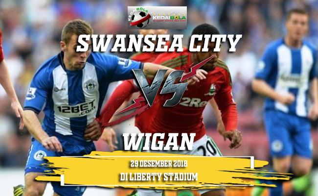 Prediksi Swansea City Vs Wigan 29 Desember 2018