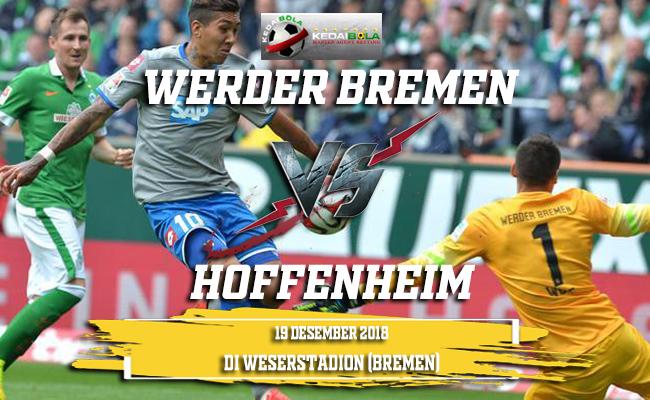 Prediksi Werder Bremen Vs Hoffenheim 20 Desember 2018