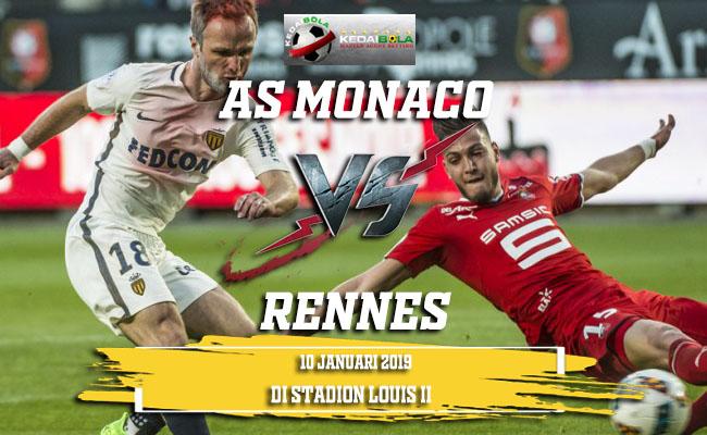 Prediksi AS Monaco Vs Rennes 10 Januari 2019