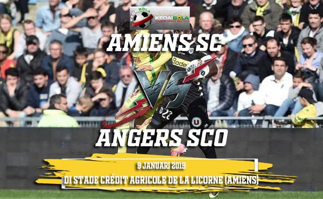 Prediksi Amiens SC Vs Angers SCO 9 Januari 2019