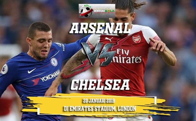 Prediksi Arsenal Vs Chelsea 20 Januari 2019