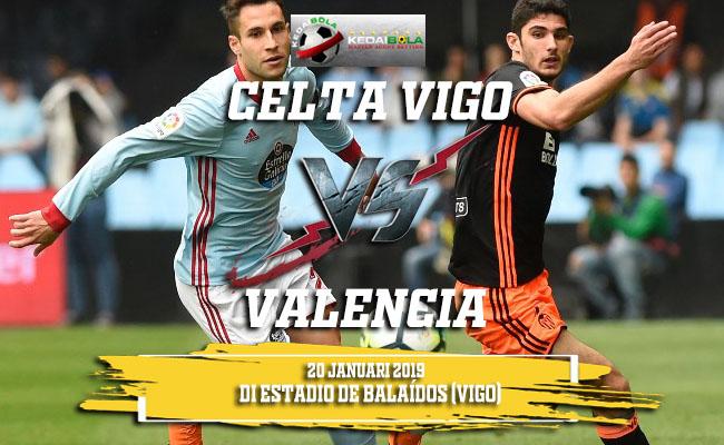 Prediksi Celta Vigo Vs Valencia 20 Januari 2019