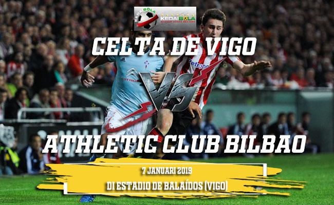Prediksi Celta de Vigo Vs Athletic Club Bilbao 8 Januari 2019