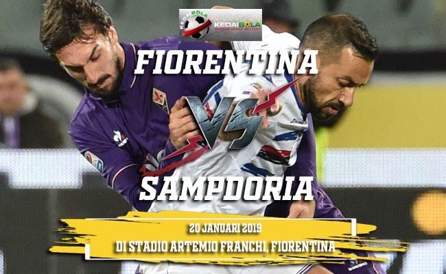 Prediksi Fiorentina Vs Sampdoria 20 Januari 2019