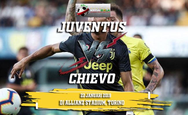 Prediksi Juventus Vs Chievo 22 Januari 2019
