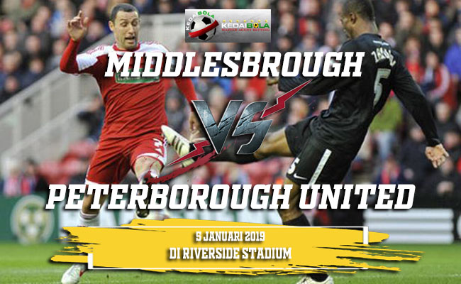 Prediksi Middlesbrough Vs Peterborough United 5 Januari 2019